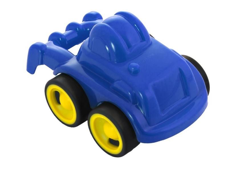 Трактор Miniland Мини-машина 1 шт 12 см синий 27484 мини машинка miniland такси 9 см синий 27507