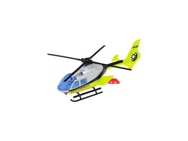 Вертолет Dickie City Express 1 шт 24 см разноцветный 3565423 автовоз dickie toys city цвет синий 44 5 см 1 машинка