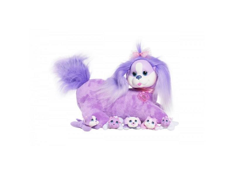 Интерактивная игрушка Just Play Собачка Кэнди и ее щенки для девочки от 3 лет 42108