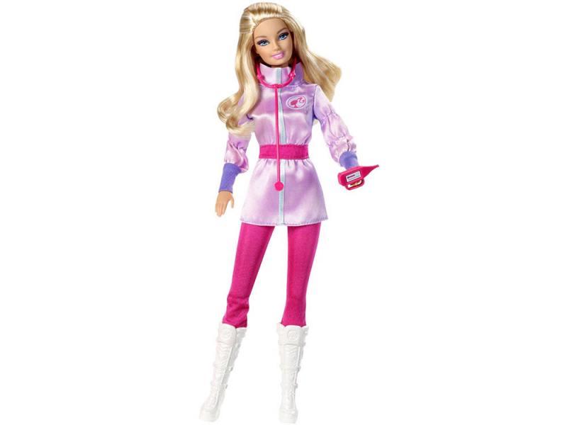 Игровой набор Mattel Barbie Кем быть: Арктический спасатель 30 см W3748