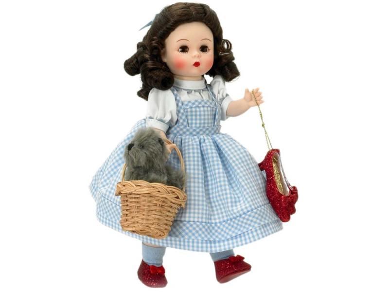 Кукла Madam Alexander Элли и Тотошка 20 см 46360 брюки madam t madam t ma422ewtdo90