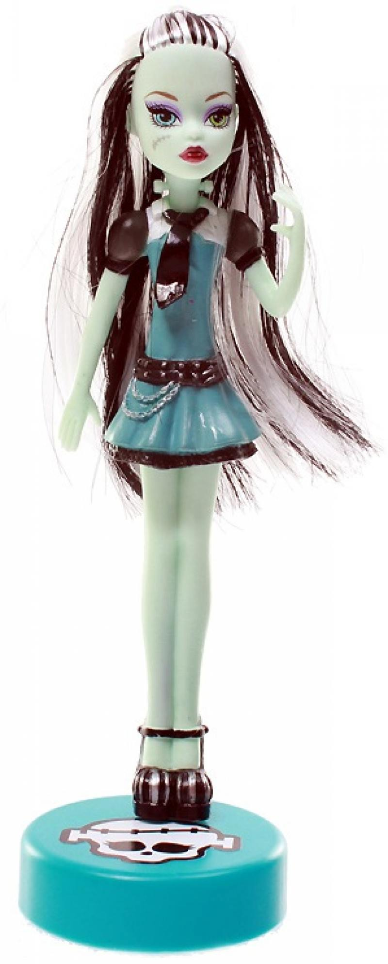 Кукла ручка Monster High с подставкой Frankie Stein monster high 100 наклеек