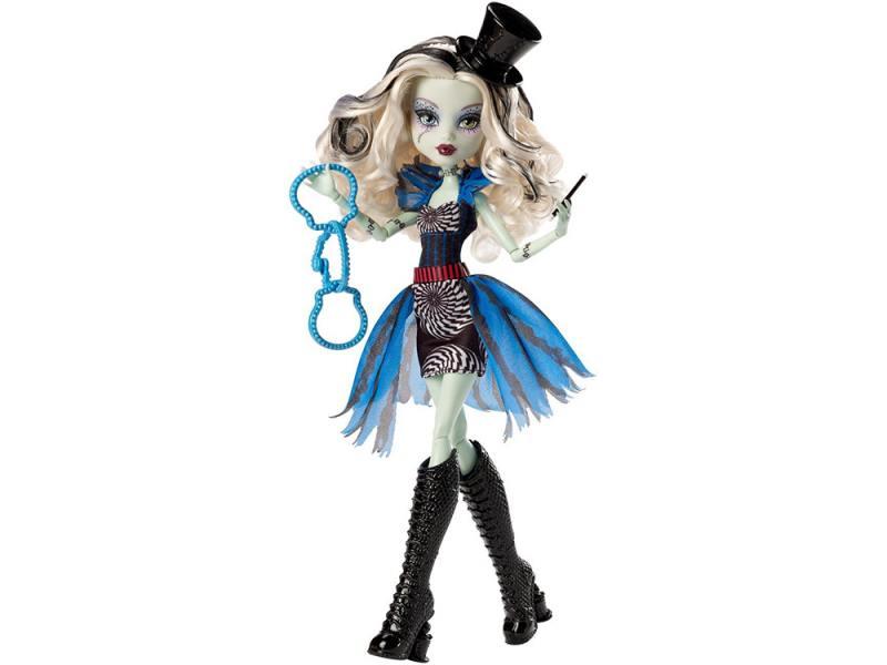Кукла Monster High Шапито Frankie Stein 09109 куклы и одежда для кукол монстер хай monster high кукла frankie stein из серии шапито