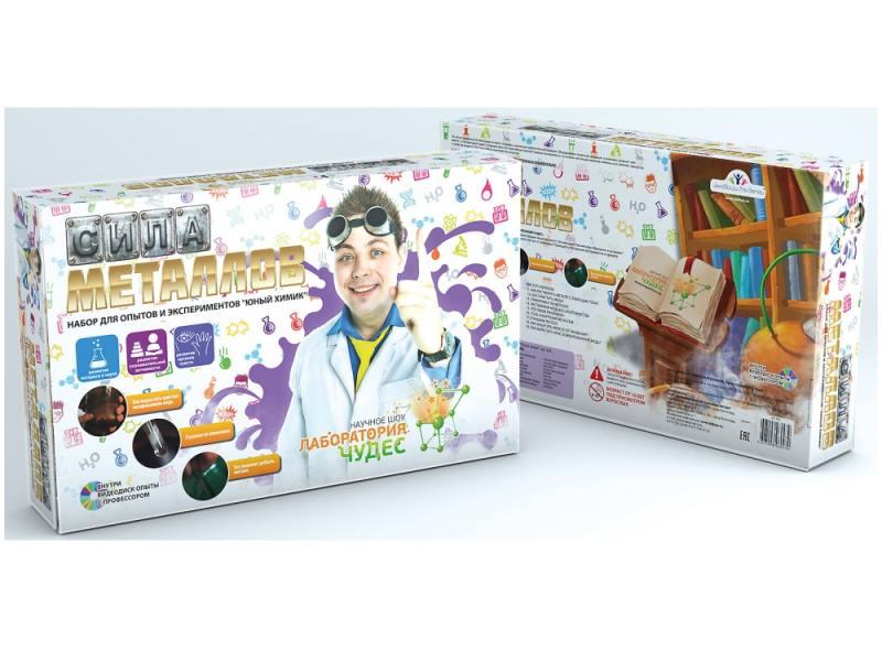 Игровой набор Инновации для детей Сила металлов 824 набор для изготовления мыла инновации для детей мыльная мастерская тропический микс 744