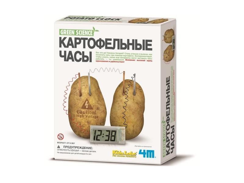 Игровой набор 4M Картофельные часы 00-03275