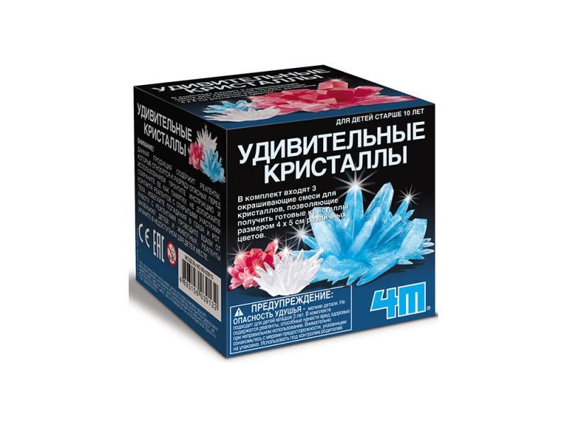 Игровой набор 4M Удивительные кристаллы Мультицвет 00-03913 4m удивительные кристаллы мультицвет 4м