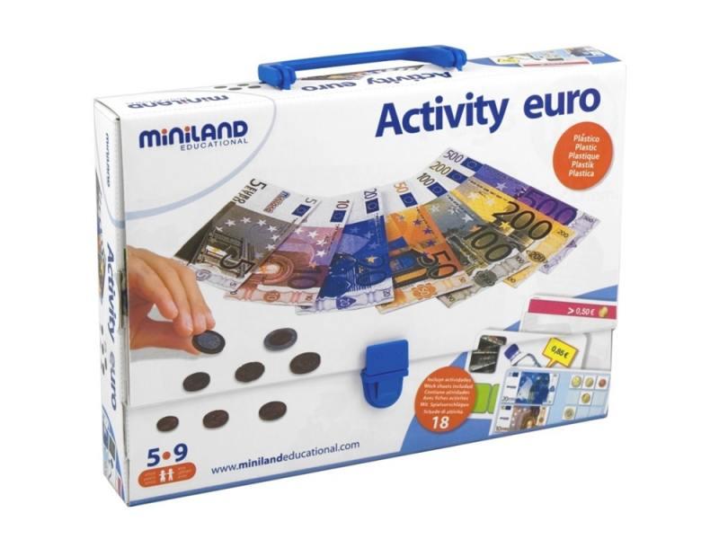 Настольная игра развивающие Miniland Euro 31916 увлажнитель miniland увлажнитель воздуха miniland humidrop