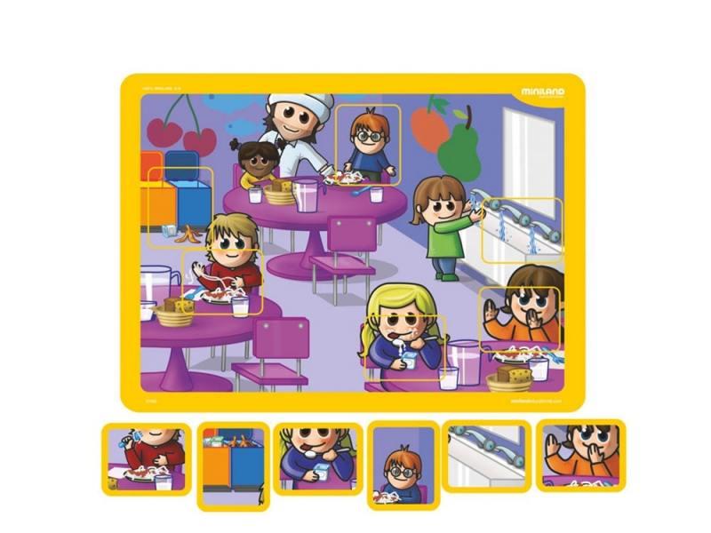 Магнитная игра развивающие Miniland Вежливость R31952 miniland scaly up 89041