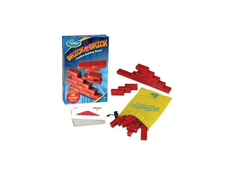 Игра-головоломка Кирпичики Brick by brick Thinkfun 5901 thinkfun кубическая головоломка tipover