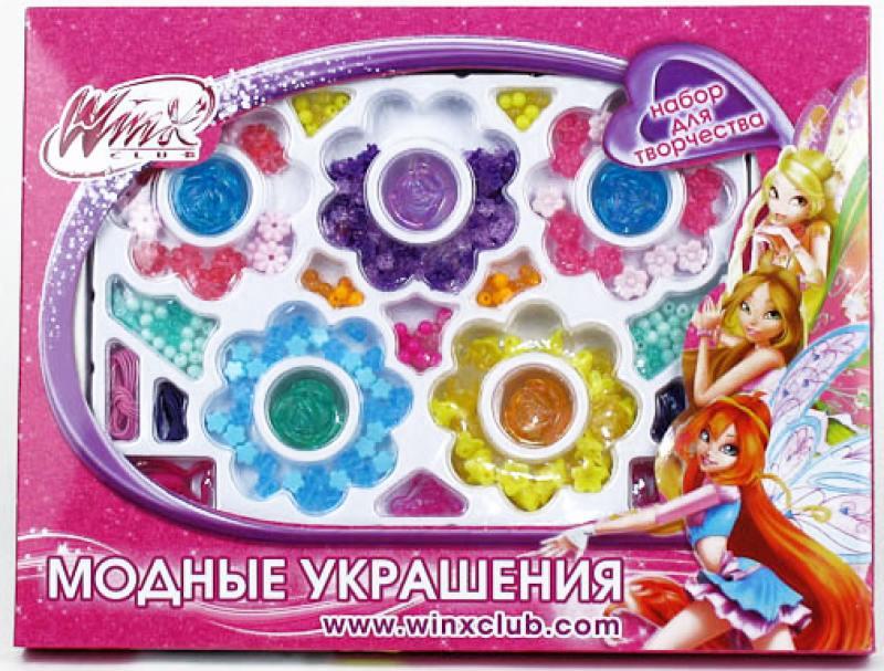 Набор для создания украшений Бусинки-цветочки Winx 1607-R