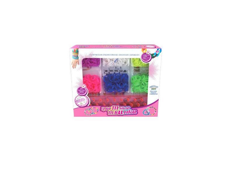Набор для плетения Shantou Gepai 21011 600 шт набор мебели для куклы shantou gepai в чемоданчике 8019