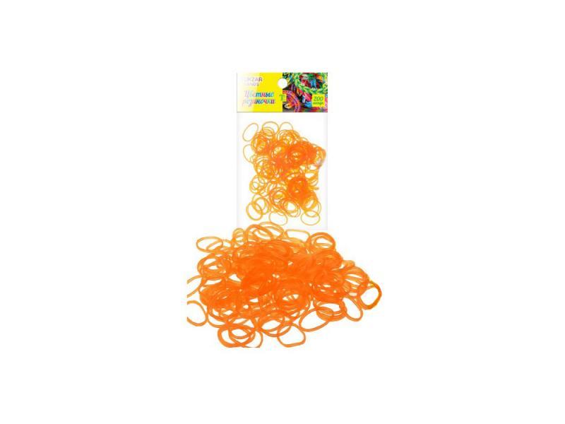 Набор для плетения TUKZAR TZ 12906 200 шт оранжевый tukzar набор деревянных ёлочных игрушек 24х24 см 24 предмета