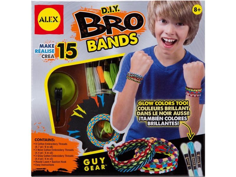 Набор для плетения Alex Сделай сам браслеты-фенечки Бро 1604 alex набор браслеты бро