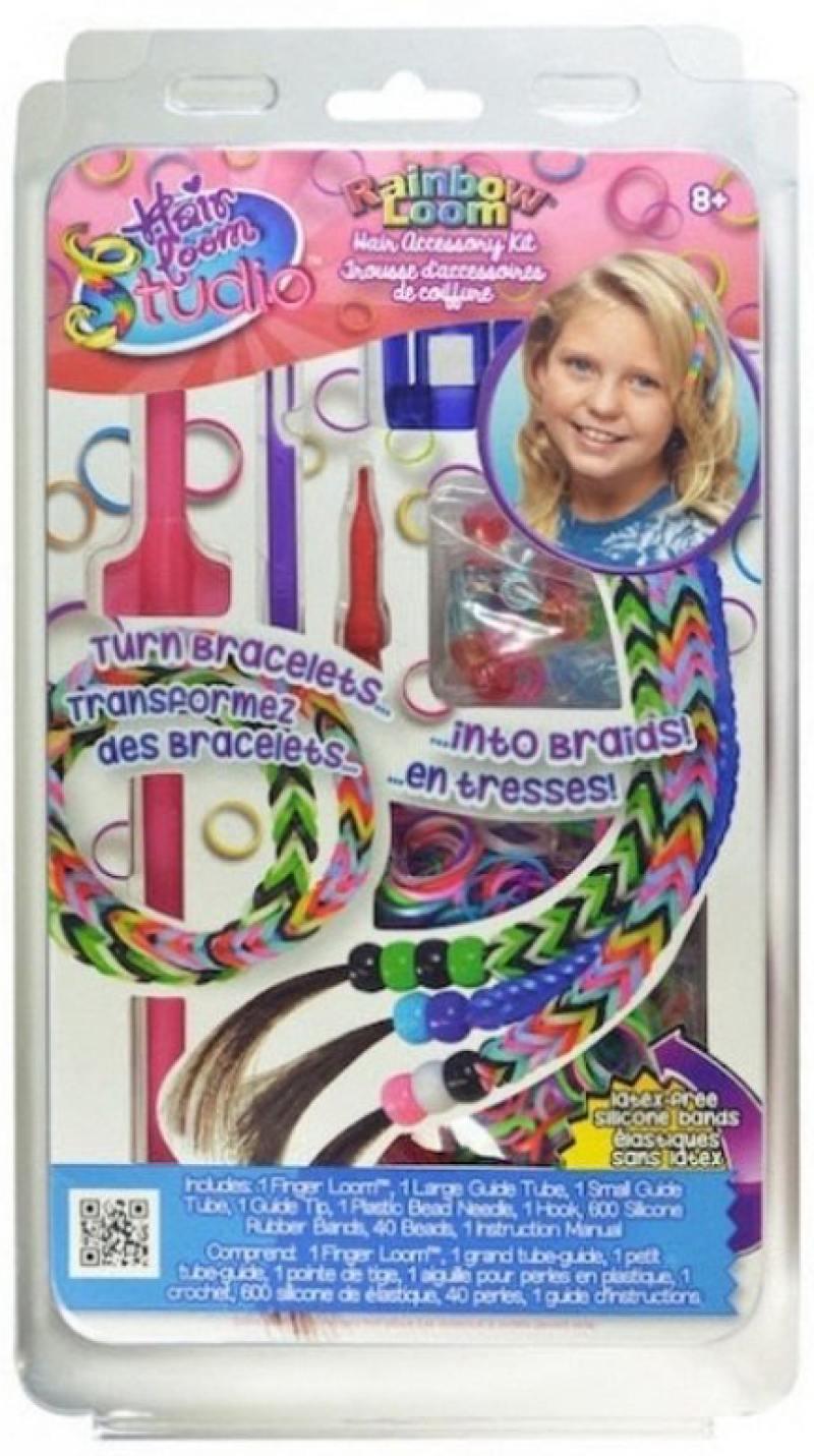 Набор для плетения украшений для волос Хэа Лум Студио R0053В с клипсы rainbow loom для плетения браслетов из резиночек rainbow loom