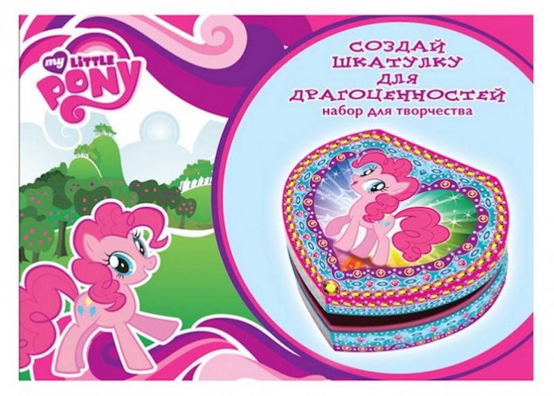 Набор для творчества Multi Art My Little Pony: Создай волшебную шкатулку со стразами JBX-MLPCB1000