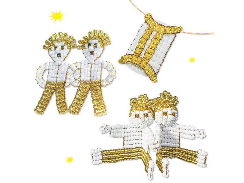Набор для творчества Клевер Знаки Зодиака - Близнецы 07-033