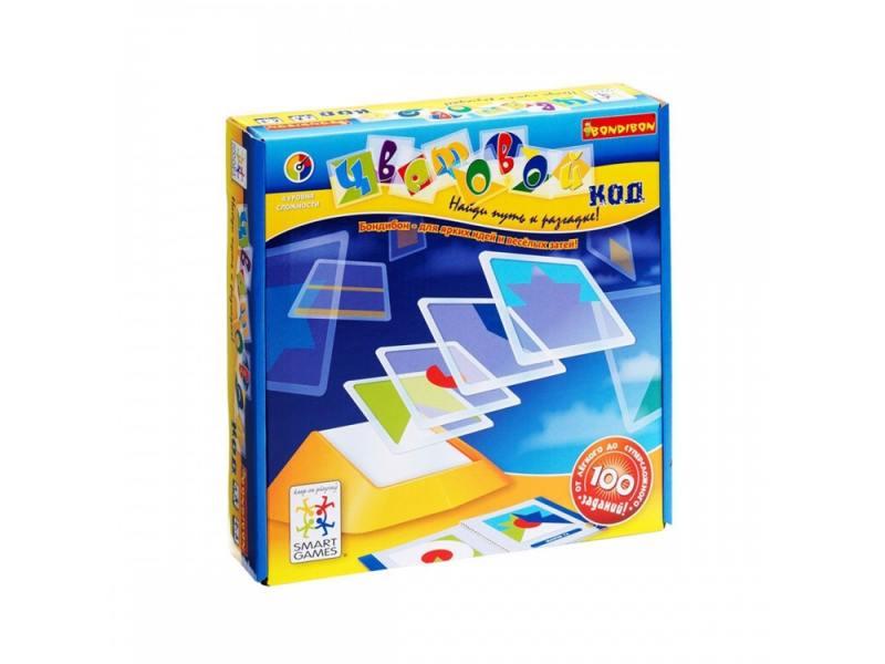 Настольная игра логическая Bondibon Цветовой код BB0352 головоломка bondibon цветовой код bb0352 sg 090 ru