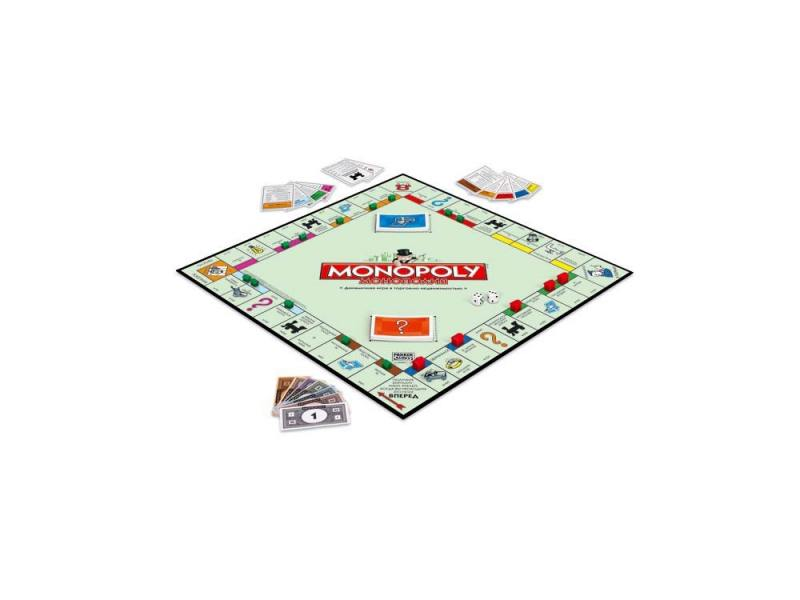 Настольная игра Hasbro Монополия (классическая) 00009 hasbro hasbro настольная игра games классическая монополия