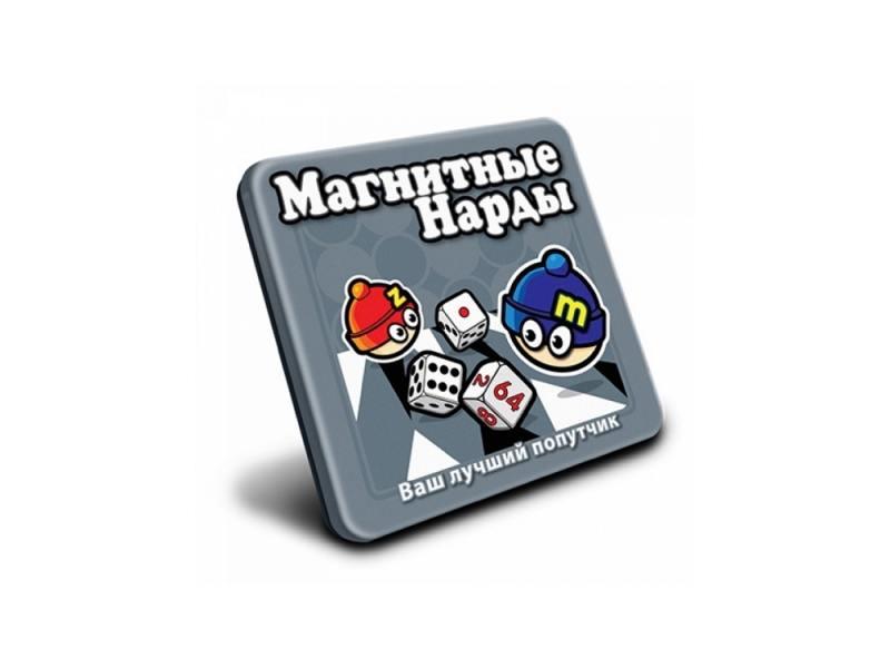 Магнитная игра логические Mack & Zack Нарды MT001