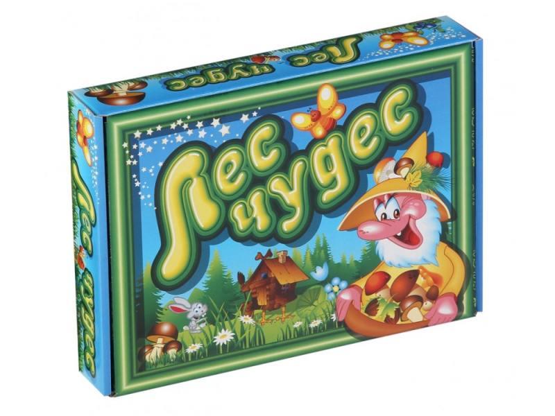Настольная игра развивающая Биплант Лес чудес 10036 игра настольная развивающая pic nmix веселые фрукты