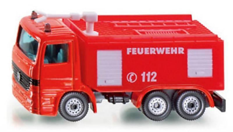 Пожарная машина Siku 1034 siku пожарная машина unimog с катером