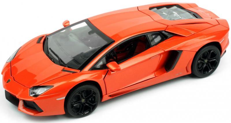 Машина металлическая RASTAR 1:18 LAMBORGHINI AVENTADOR LP700 (красный) 61300