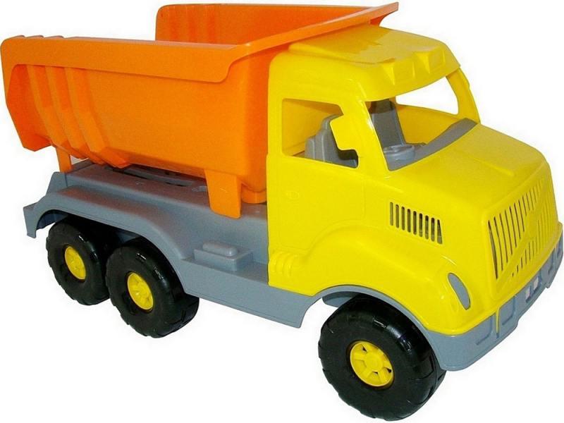 Самосвал Cavallino Богатырь 1 шт 58.5 см желтый 37336 cavallino 5113 автомобиль самосвал супергигант cavallino