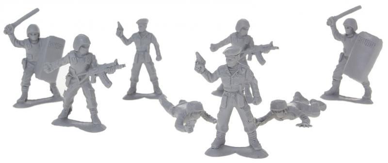 Набор солдатиков Российский спецназ 8шт 12021 игровые фигурки papo игровая реалистичная фигурка жираф