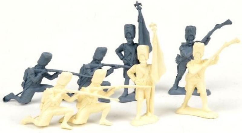 Фото - Набор солдатиков Армия 1812 года 8шт 12022 набор подвесок звезда 8шт 35мм стекло микс