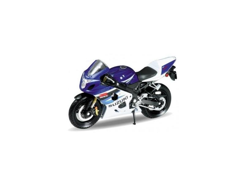 Мотоцикл Welly Suzuki GSX-R750 1:18 welly мотоцикл honda hornet
