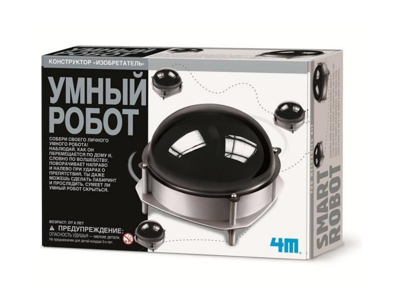 Конструктор 4m Умный робот 00-03272 8+ 4m 4m 00 03280 робот художник