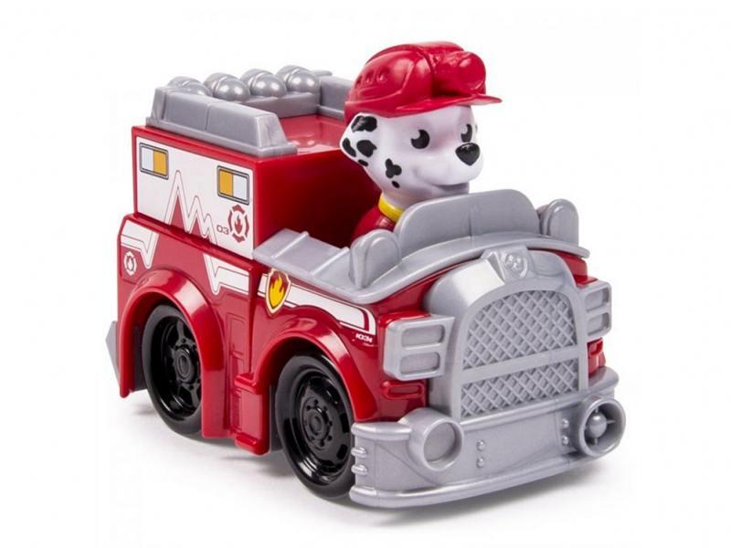 Игрушка Paw Patrol Маленькая машинка спасателя (пожарная машина) 20068622 игрушка paw patrol маленькая машинка спасателя