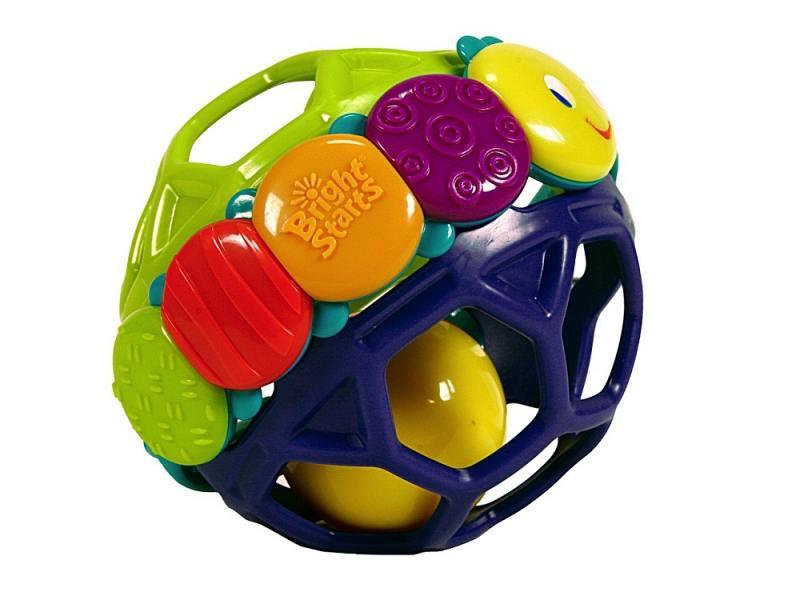 Купить Погремушка Bright Starts Гибкий шарик унисекс 8863, Игрушки