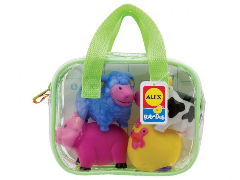 Интерактивная игрушка Alex Ферма до 1 года разноцветный игровой набор alex alex шнуровка веселая ферма
