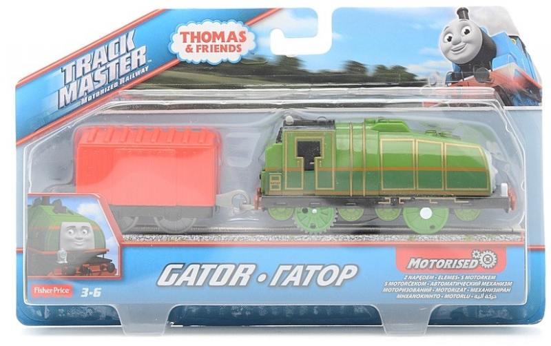Игровой набор Fisher Price Томас и друзья Дополнительные паровозики Гатор/Gator BMK88/CBY00 игровой набор fisher price minnie mouse фургончик для любимых питомцев от 2 лет x2756