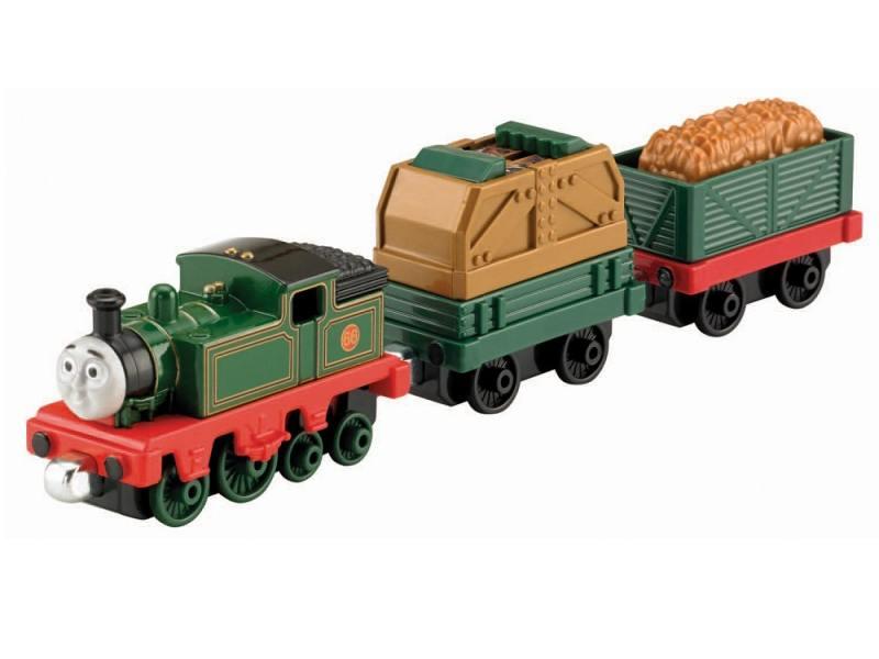 Игровой набор Fisher Price Паровозик и вагончики серии Томас и друзья 3 предмета Y3279