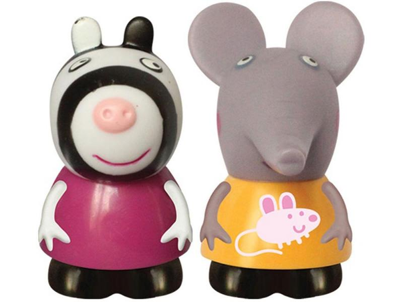 Игровой набор Peppa Pig Эмили и Зои 10 см 2 предмета 27131 peppa pig транспорт 01565