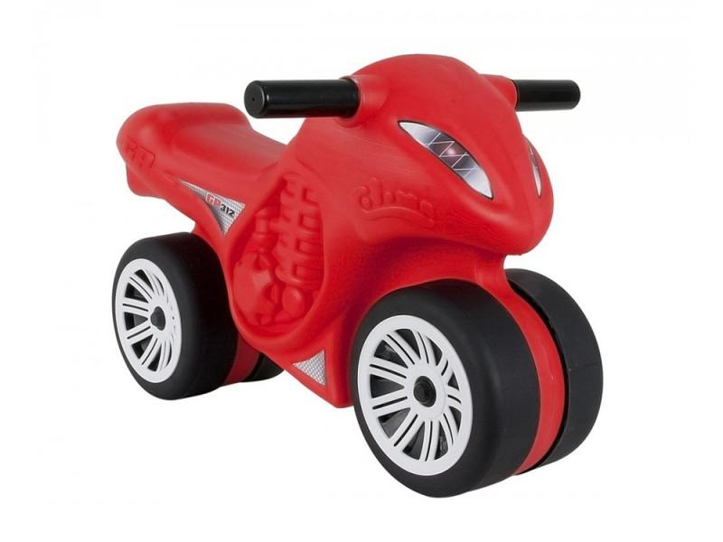 Каталка-мотоцикл Coloma Moto Phantom GP 312 пластик от 1 года красный каталки coloma скутер mig