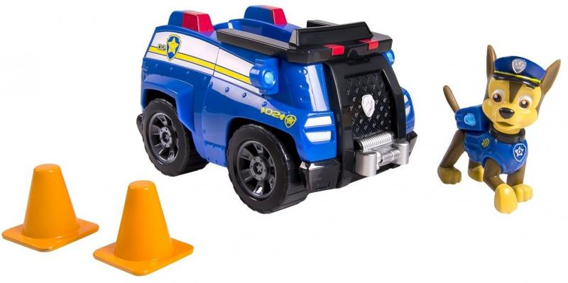 Игрушка Paw Patrol Машинка спасателя и щенок 20064341 Чейз