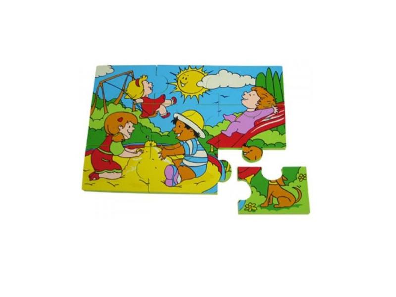 Интерактивная игрушка Edushape Парк аттракционов от 1 года разноцветный