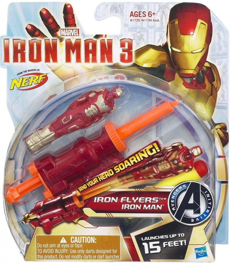 Игровой набор Hasbro Iron Man Летающие фигурки А1735 игровой набор hasbro iron man летающие фигурки от 6 лет а1735