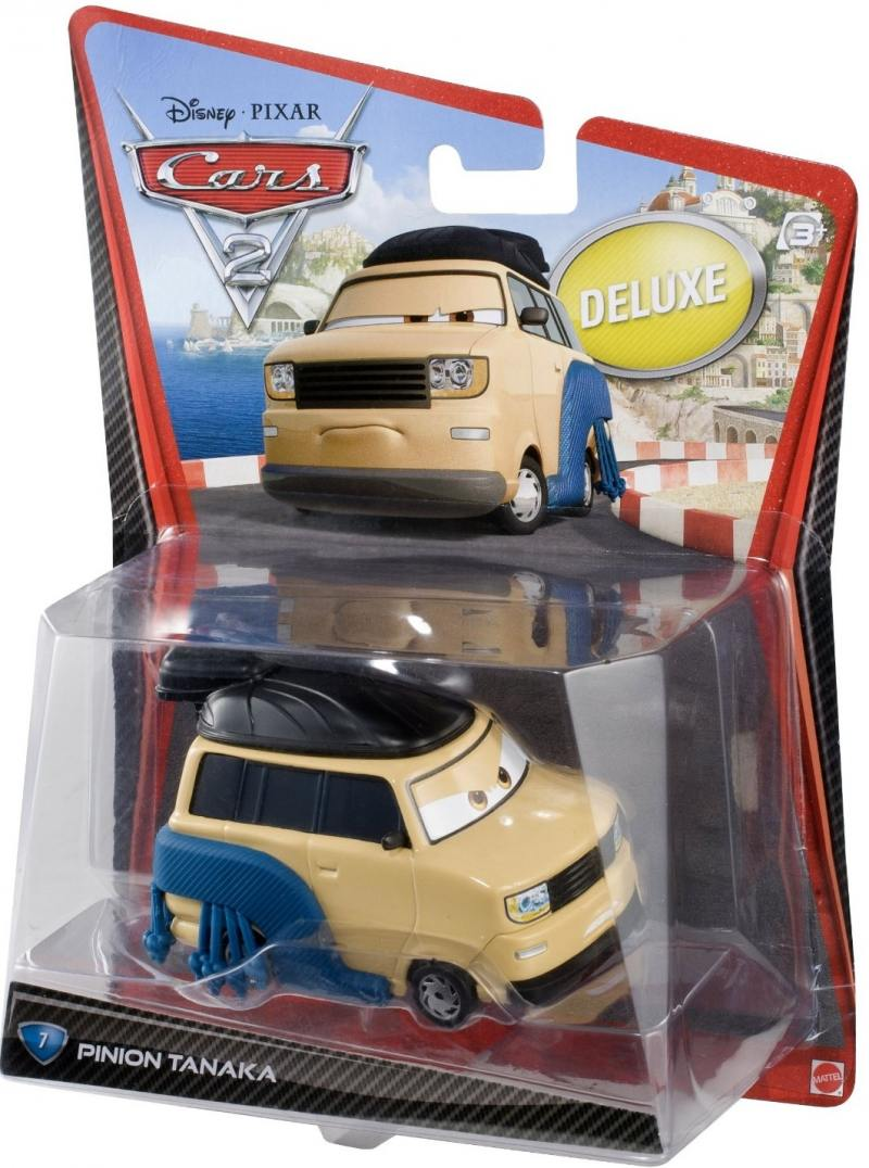 Автомобиль Mattel Cars 2 Тачки 2 Pinion Tanaka V2850 mattel mattel кукла ever after high мишель мермейд