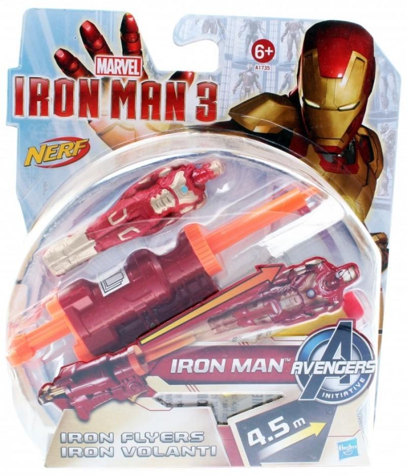Игровой набор Hasbro Iron Man Летающие фигурки А1736 игровой набор hasbro iron man летающие фигурки от 6 лет а1735
