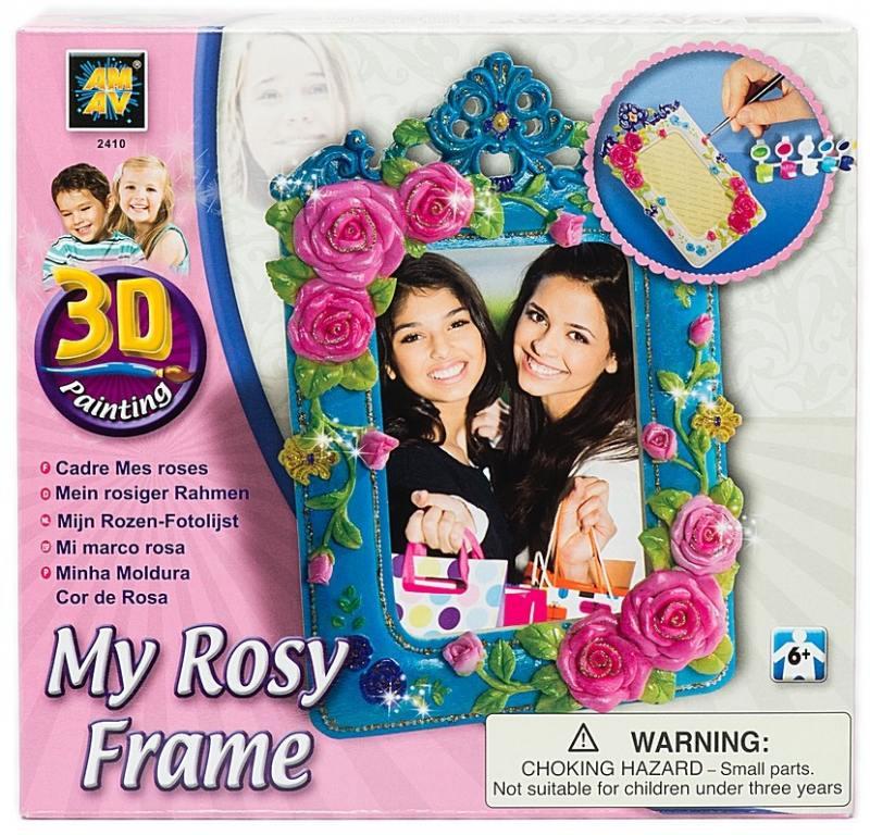 Набор для творчества Diamant Рамка для фотографий Роза от 5 лет 2410