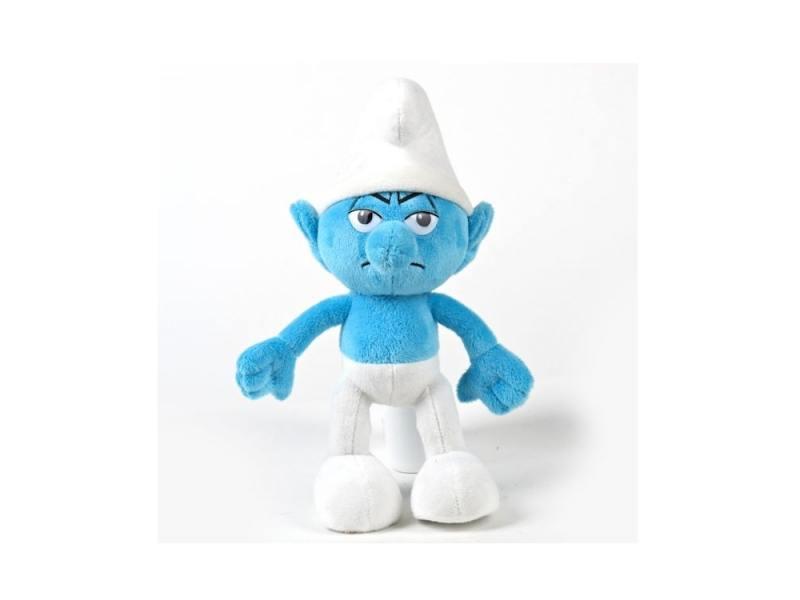 Мягкая игрушка JAKKS Смурф 28 см синий плюш 29116