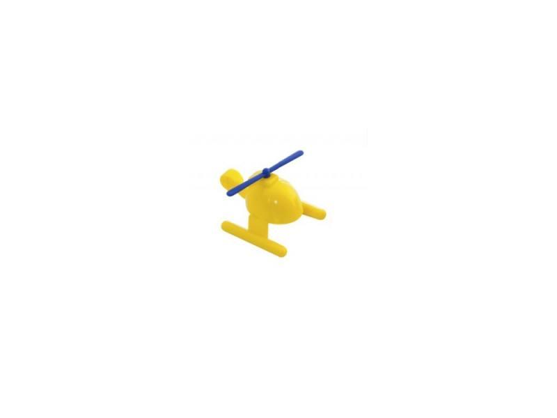 Вертолет Miniland 27504 1 шт 9 см желтый автомобиль miniland гоночная 1 шт 12 см синий 27482