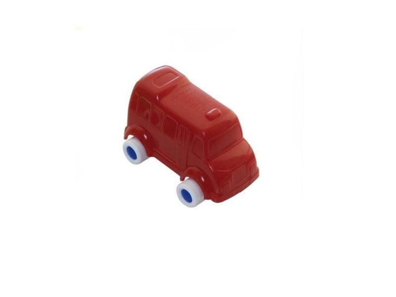 Мини-машинка Miniland Автобус, 9 см. красный 27505