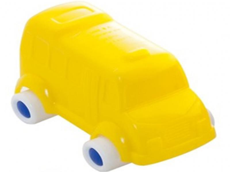 Мини-машинка Miniland Грузовик, 9 см. желтый 27503