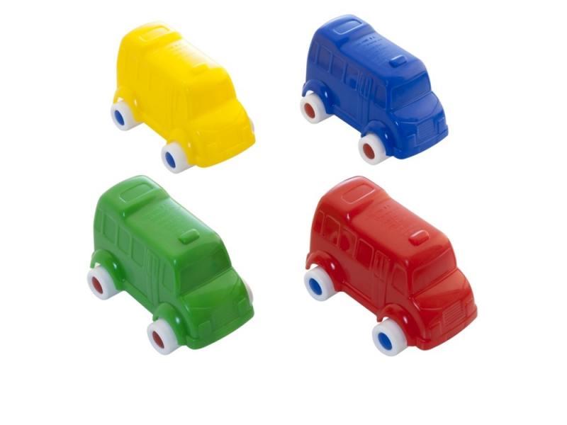 Мини-машинка Miniland Автобус, 9 см. синий 27505