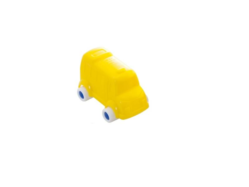 Мини-машинка Miniland Автобус, 9 см. желтый 27505